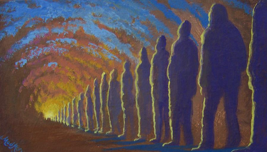 Sunset Painting - Followers Of The Light by Marjorie Hause