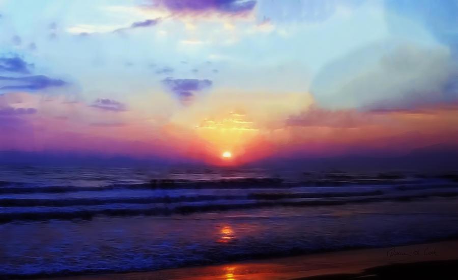 Folly Beach South Carolina Sunrise Photograph