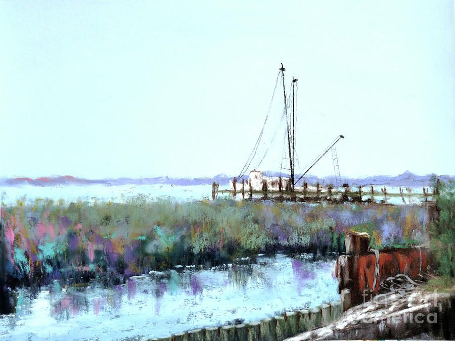 Folly Island Shrimper by Trish Emery