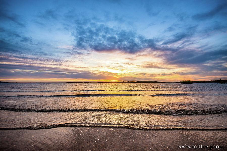 Folsome Sunset by Nicholas Miller