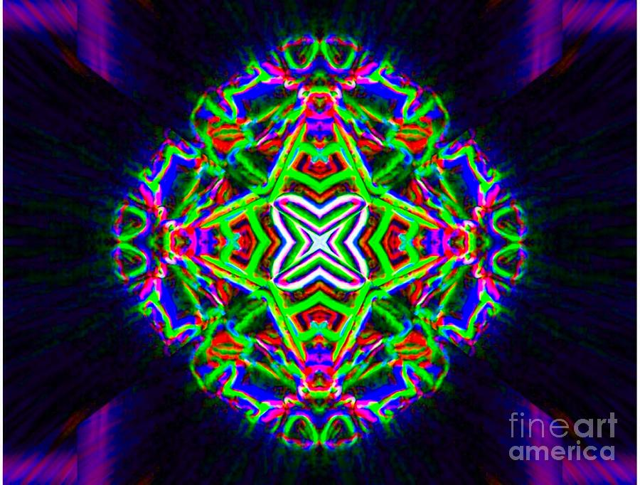 Abstract Digital Art - Fongulogus by Lorles Lifestyles