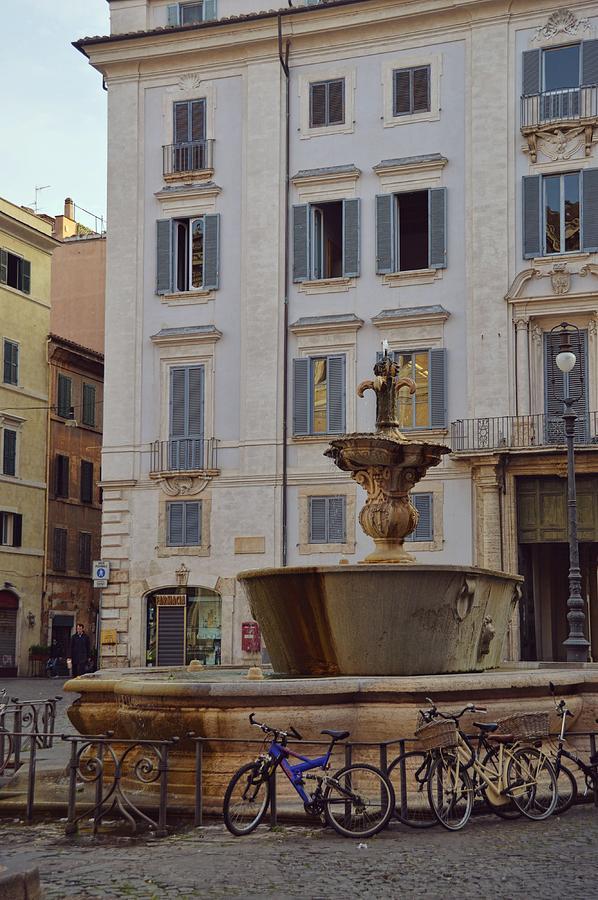 Italy Photograph - Fontana Di Piazza Farnese by JAMART Photography