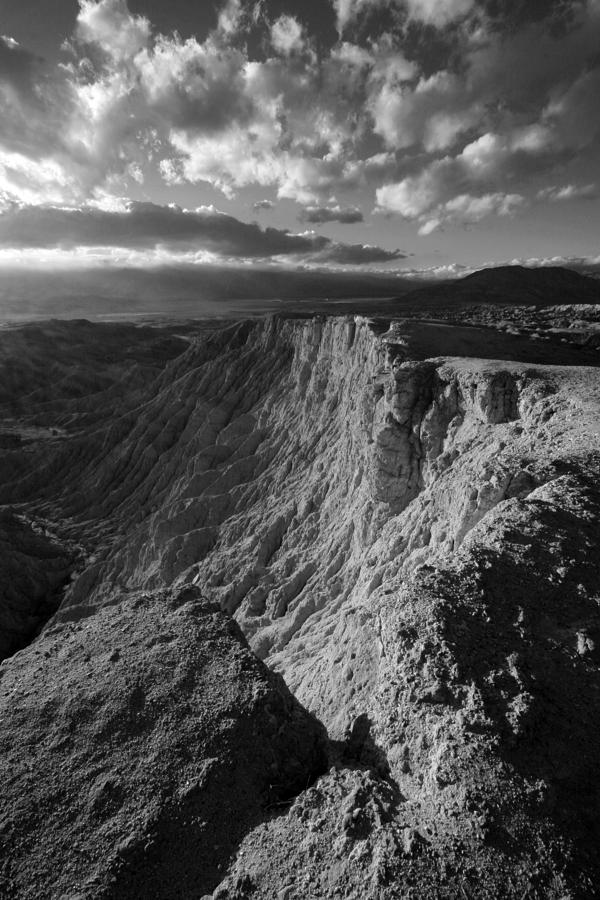 Anza-borrego Desert Photograph - Fonts Point by Peter Tellone