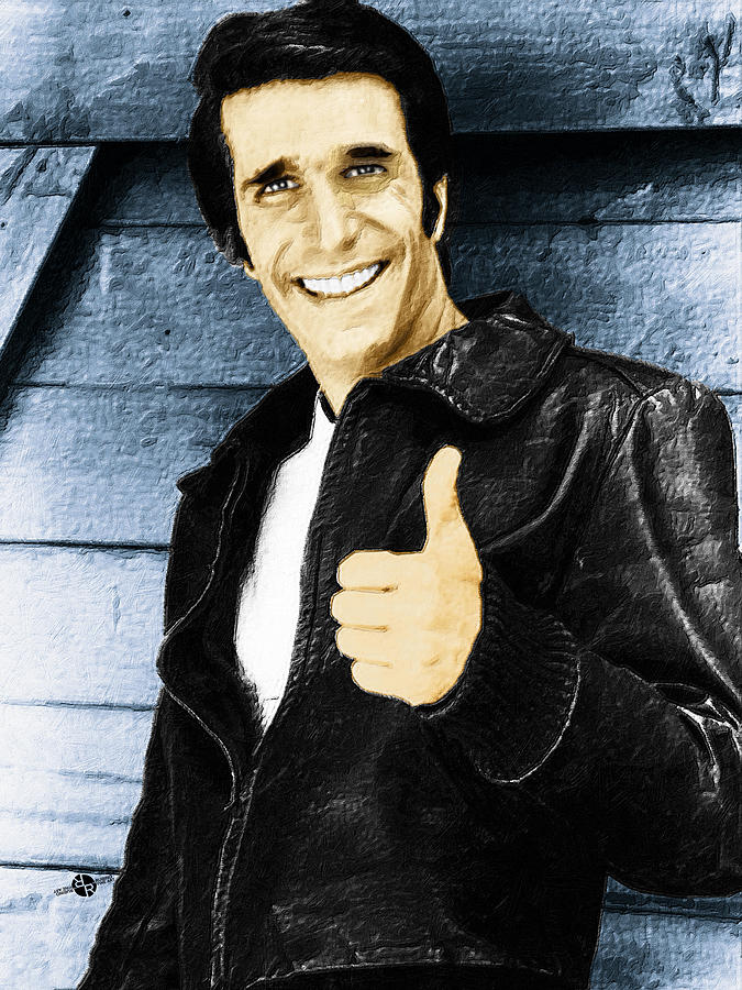 Image result for fonz paintings