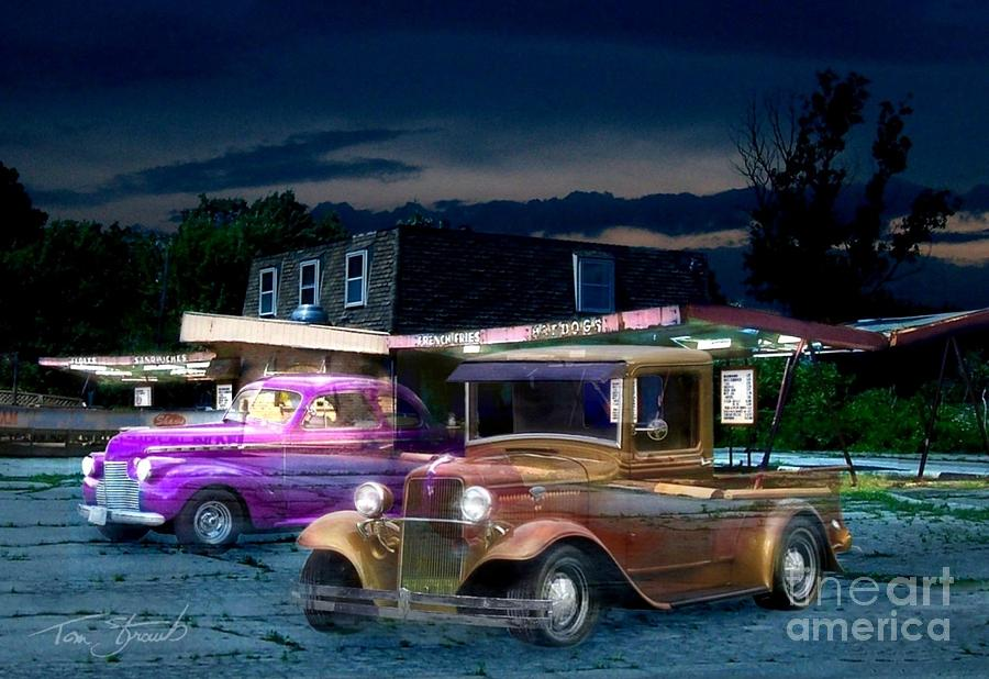 Haunted Photograph - Food And Foam by Tom Straub