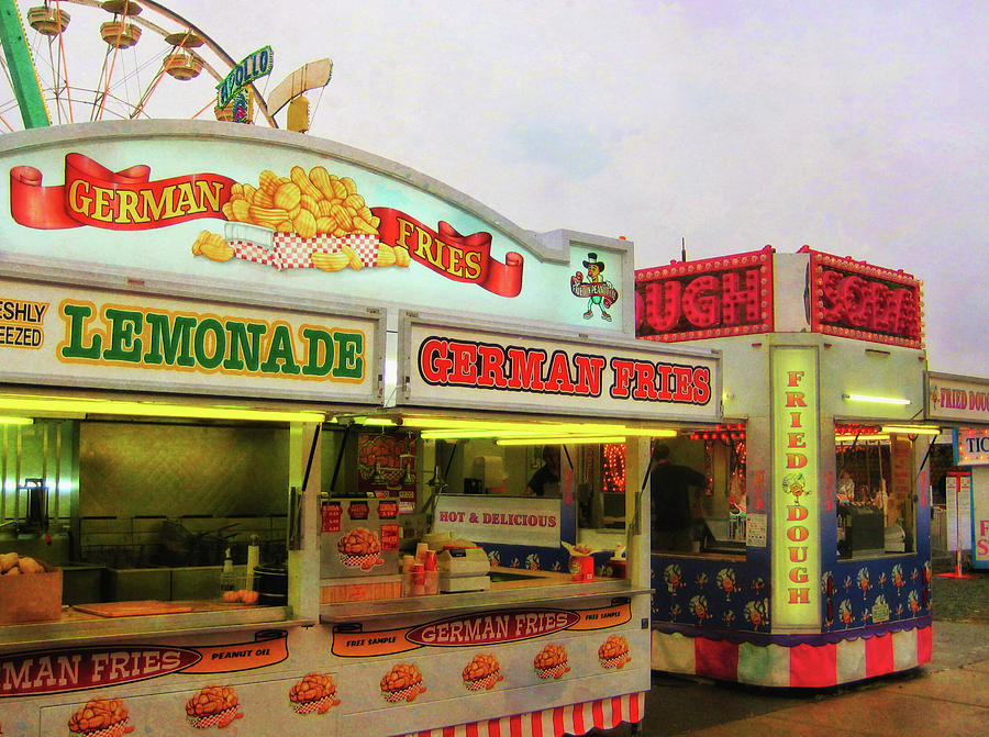 Carnival Photograph - Food And Fun by JAMART Photography