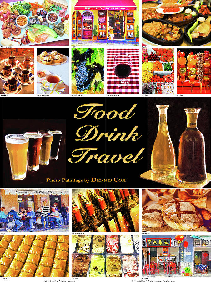 Food Drink Travel Poster Photograph