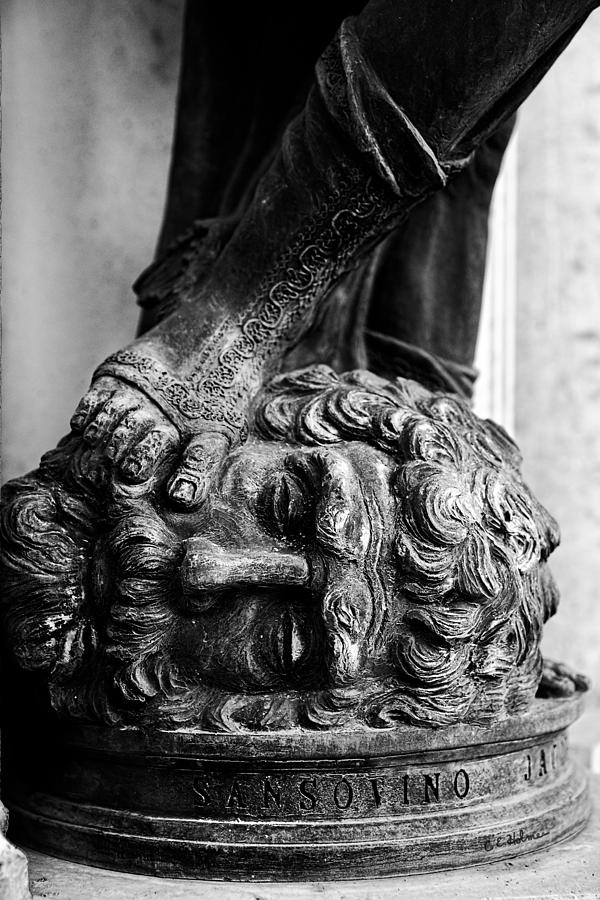Sculpture Photograph - Foot Rest B-w by Christopher Holmes