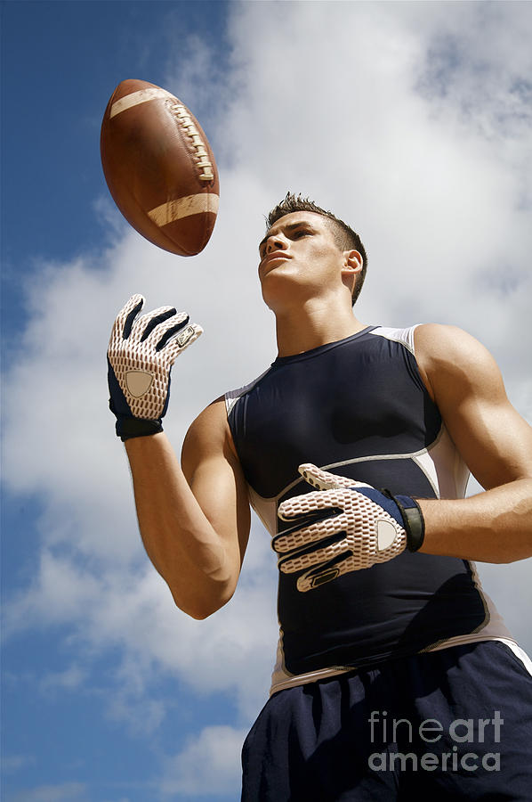 Athlete Photograph - Football Athlete I by Kicka Witte - Printscapes