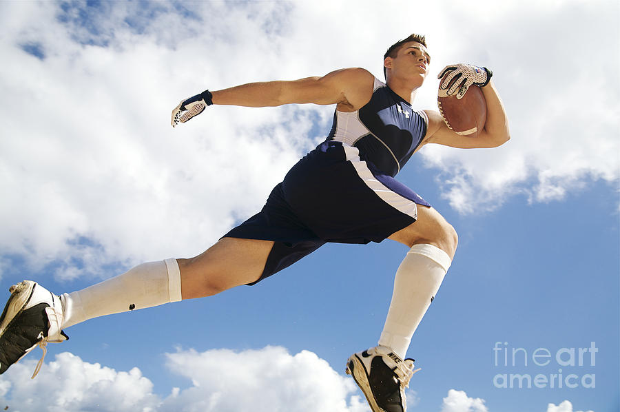 Athlete Photograph - Football Athlete II by Kicka Witte - Printscapes