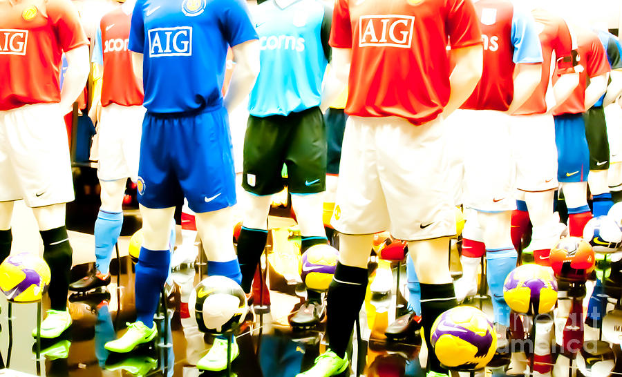 Football Photograph - Footballers Unite by Andy Smy