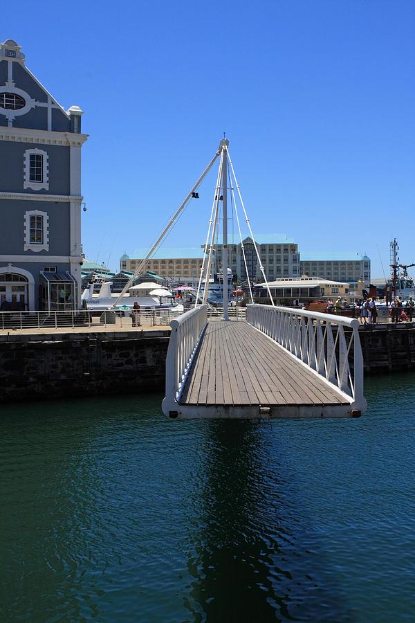 Bridge Photograph - Footbridge  by Aidan Moran