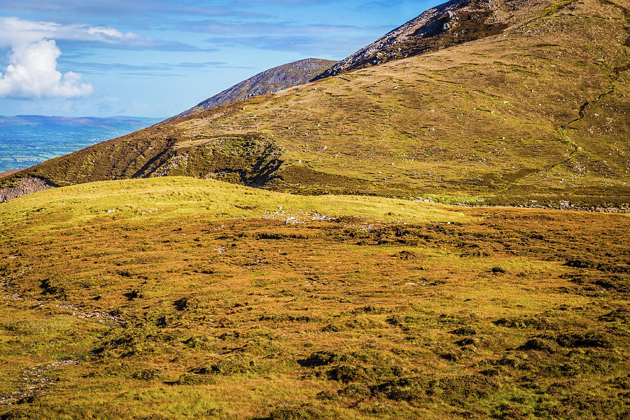Foothill of the Macgillycuddy's Reeks in Kerry Ireland by Semmick Photo