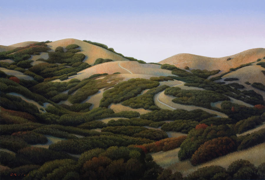 Salt Lake City Painting - Foothills by Chris Miles