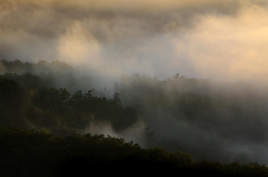 Foothills of the Blue Ridge Mountains by John Harmon