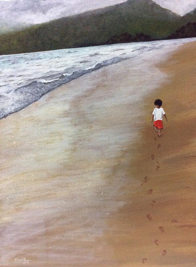 Footprints by Elizabeth Mundaden