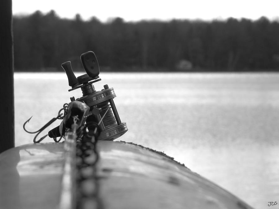 Fishing Pole Photograph - For Grandpa by Jesse Schedivy