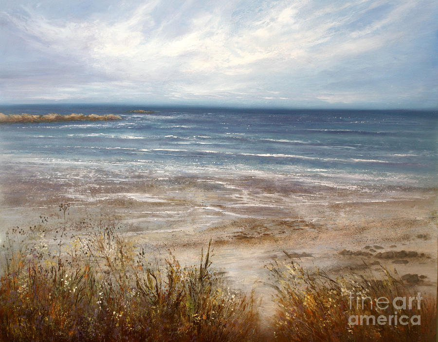 Seascape Painting - For Love Of The Sea by Valerie Travers