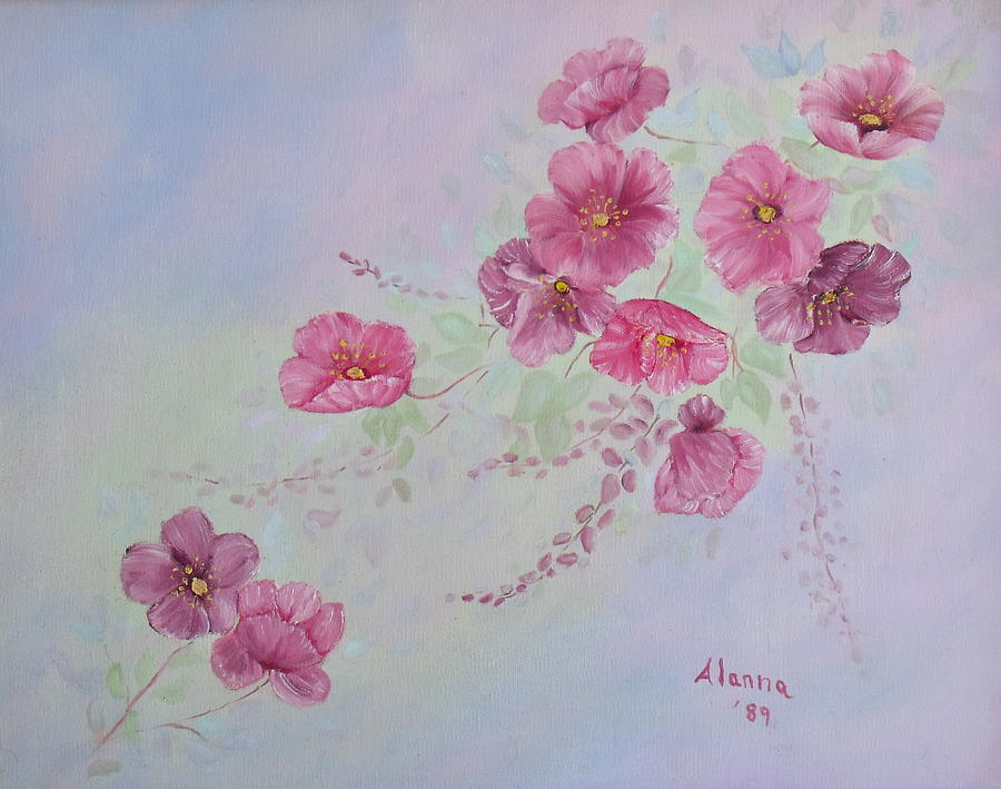 Flowers Painting - For Mom And Dad by Alanna Hug-McAnnally