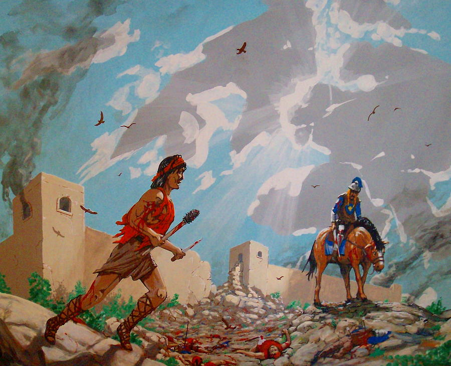 Medieval Painting - for Sue by David  Larcom