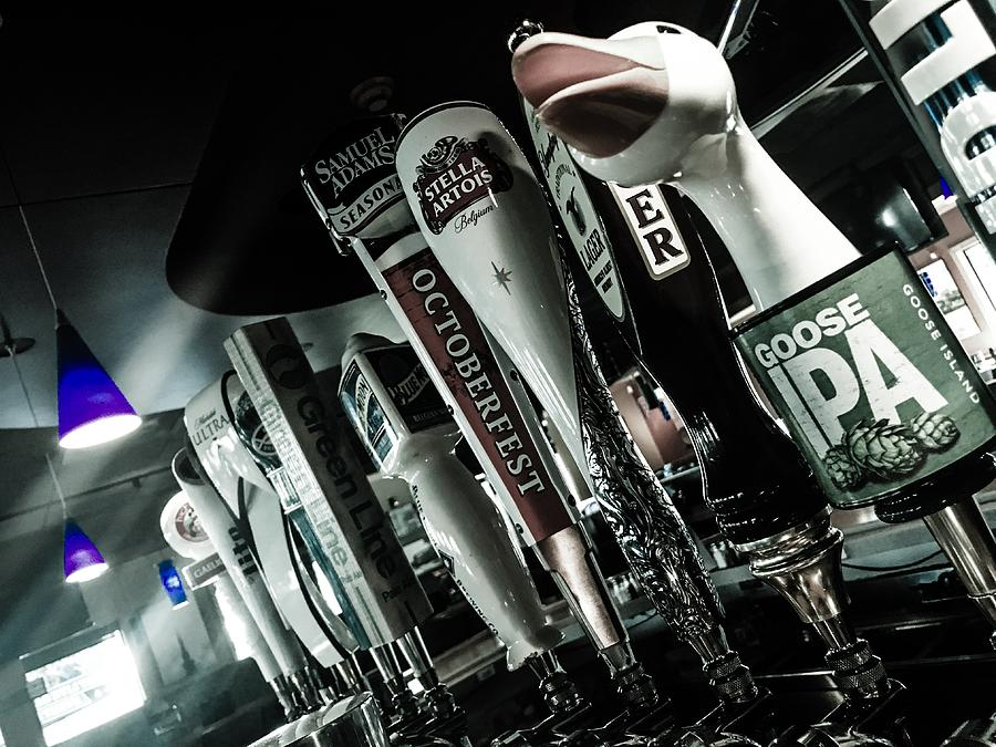 Beer Photograph - For The Love Of Beer by Angela Sherrer