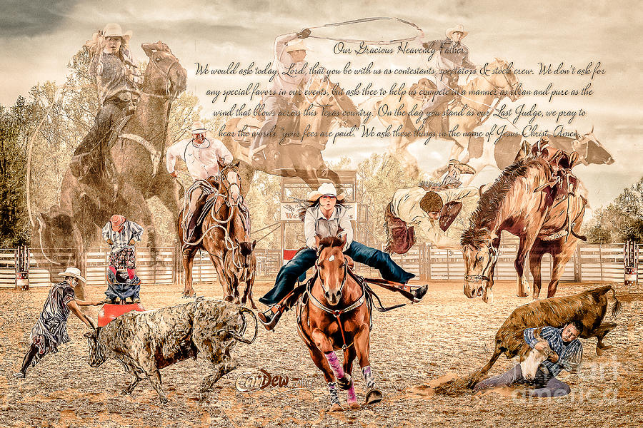Rodeo Photograph - For The Love Of Rodeo by Char Doonan