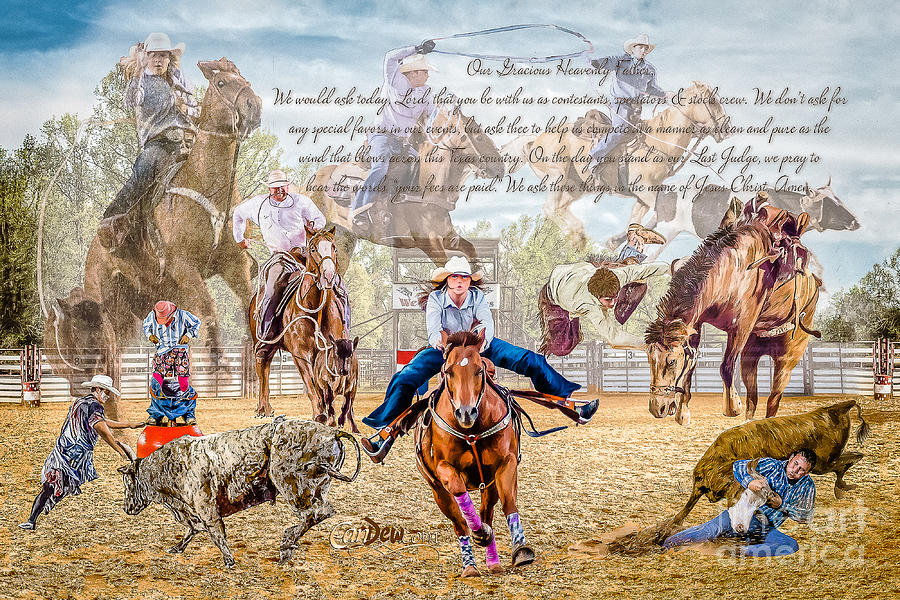 Rodeo Photograph - For The Love Of Rodeo II by Char Doonan
