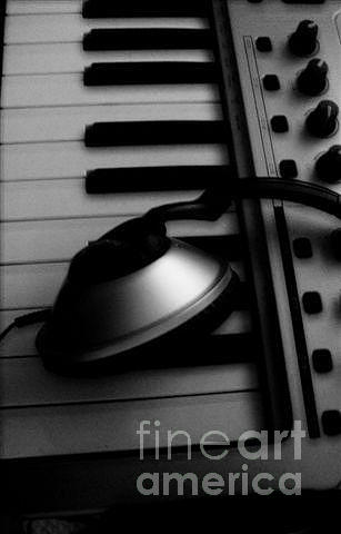 Headphones Photograph - For The Luv Of Music by Stacy Devanney
