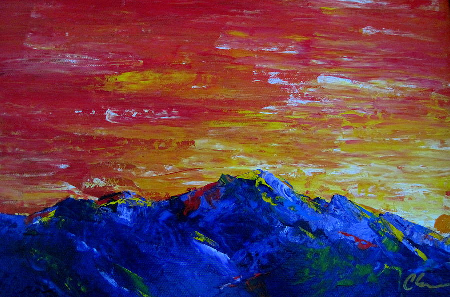 Landscape Painting - For Them The Sun Rises by Cheryl Ehlers