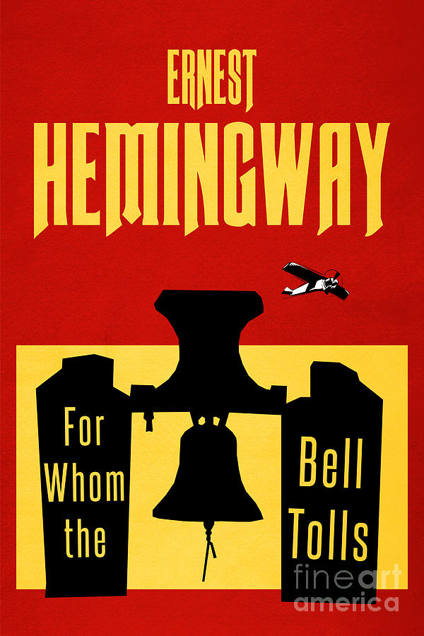 For Whom The Bell Tolls Book Cover Poster Art 2 Digital Art