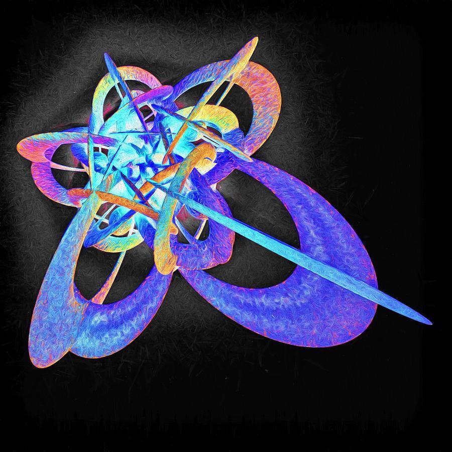 Force Fields Digital Art