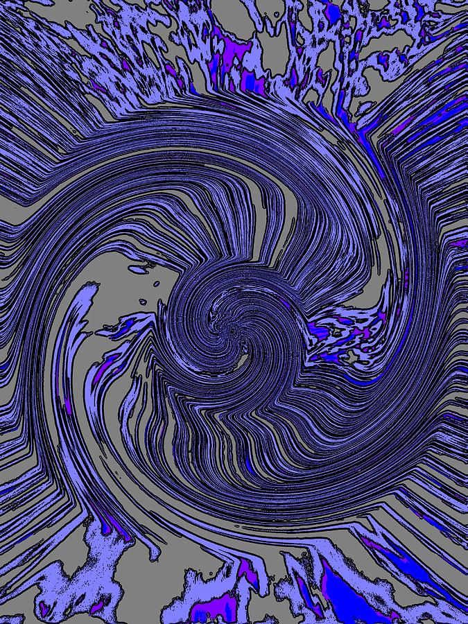 Force Digital Art - Force Of Nature by Tim Allen