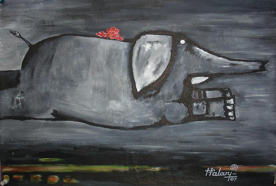 Force Painting by Ramesh Halari
