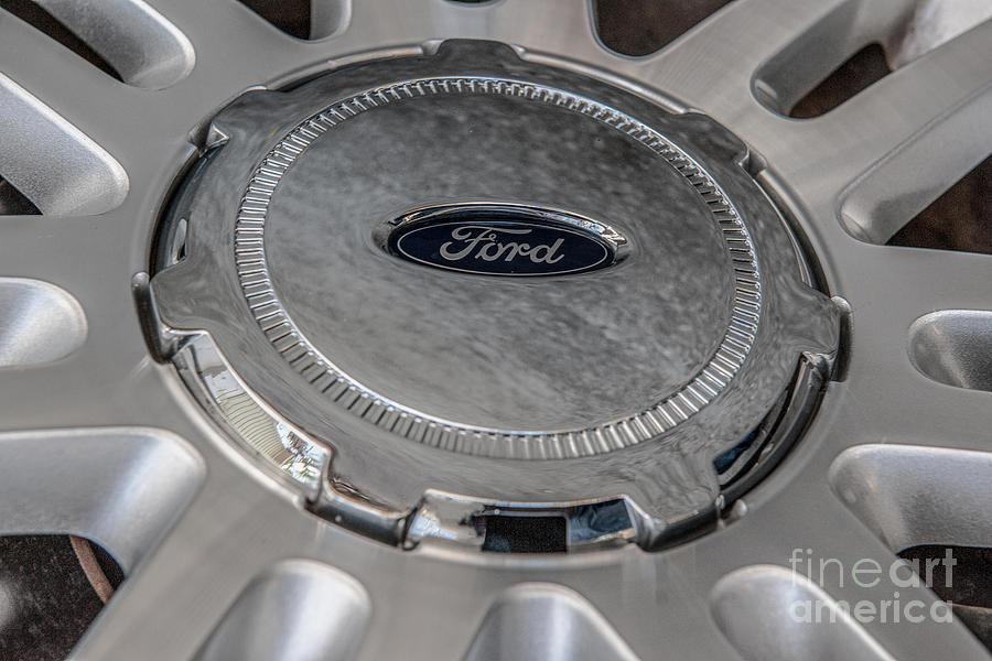 Ford 150 Wheel Photograph