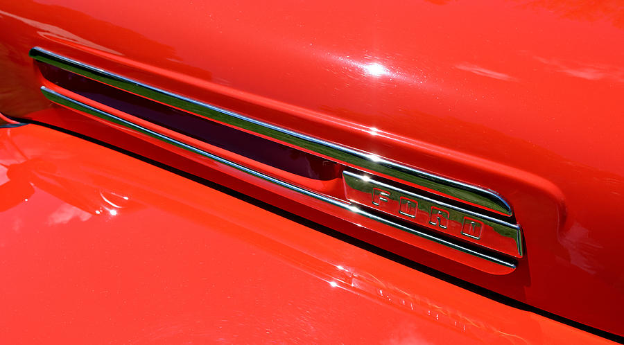 Ford Ford F Hood At The Golden State Classic Car Show In - Paso robles car show