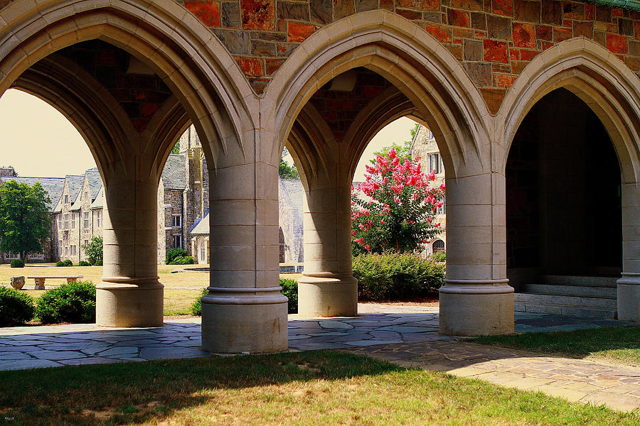 Berry College Photograph - Ford Buildings Archway by Jason Blalock