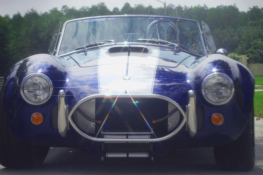 Speed Photograph - Ford Cobra by Margaret Fortunato