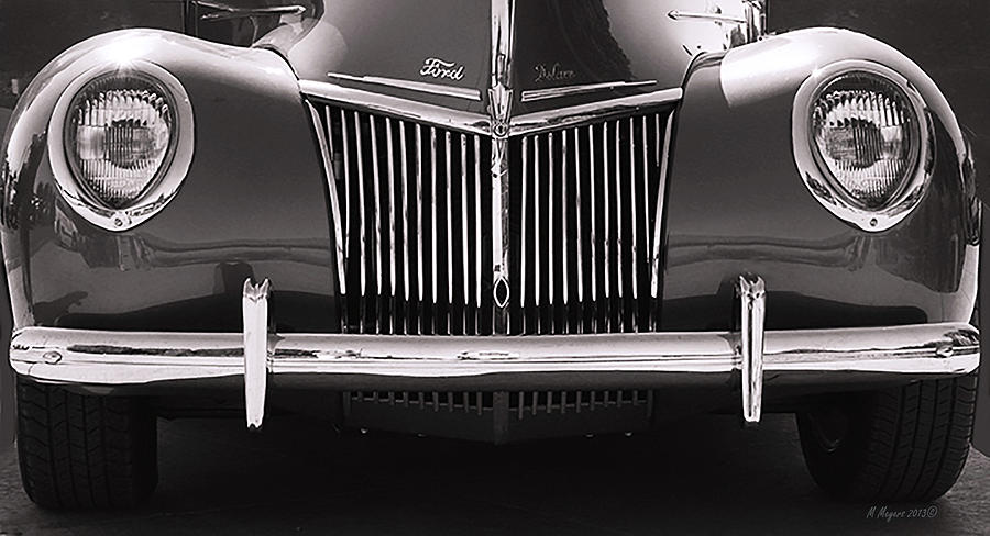 Car Photograph - Ford Delux by Melisa Meyers