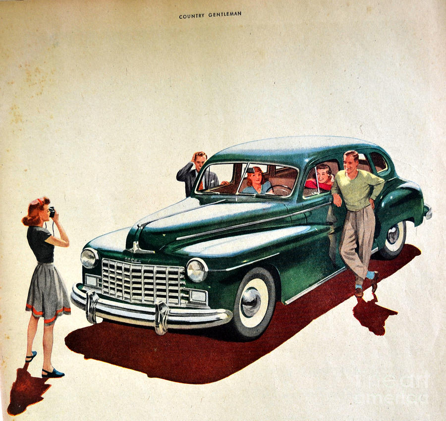 1940's Photograph - Ford by Diane montana Jansson