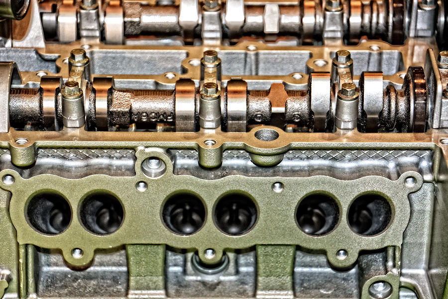 Ford Photograph - Ford Ecoboost Cylinder Head by Mike Martin