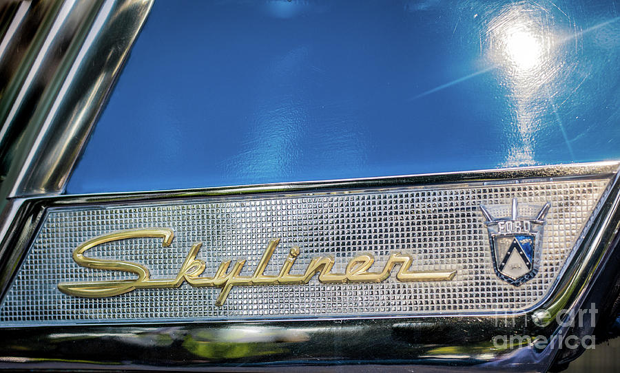 Ford Fairlane 500 Skyliner Photograph
