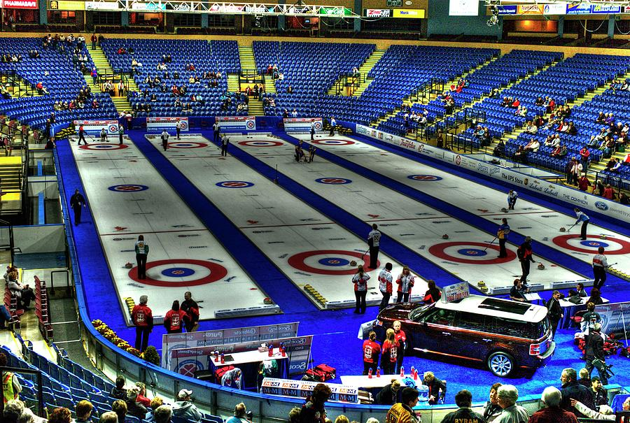 Curling Photograph - Ford Hot Shots by Lawrence Christopher