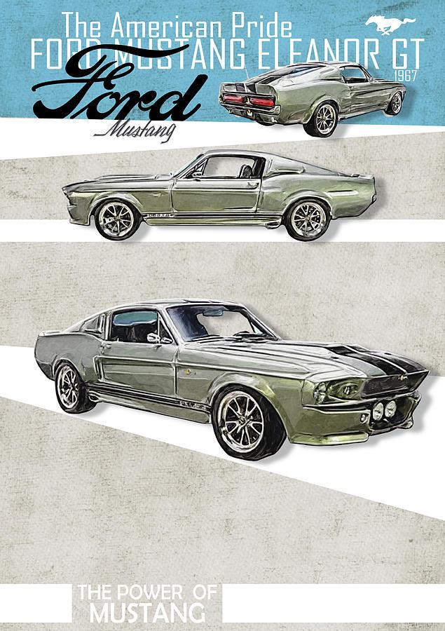 Ford Mustang Eleanor >> Ford Mustang Eleanor 1967