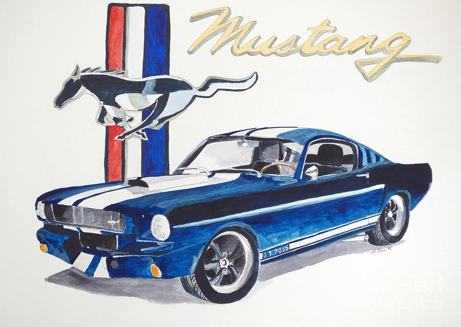 Ford Mustang by Eva Ason