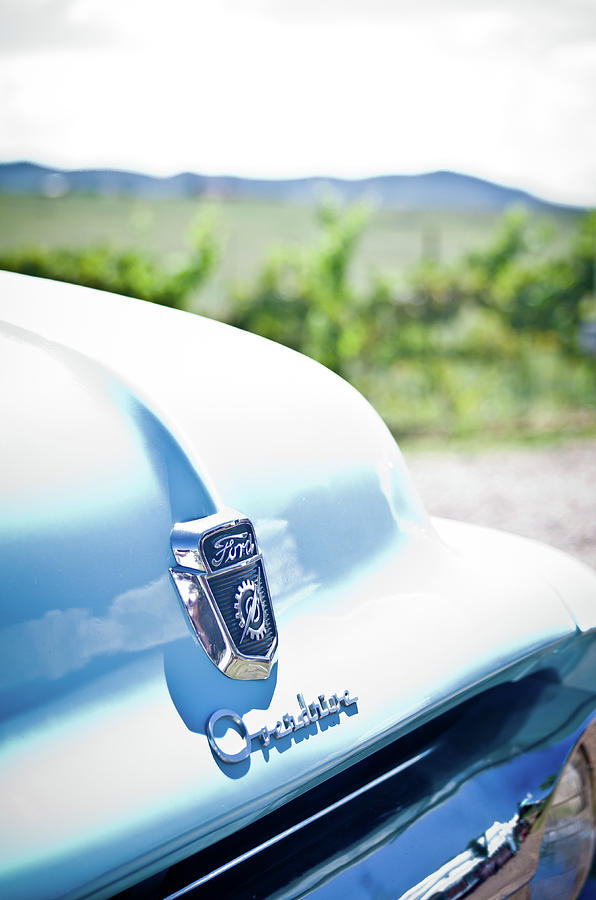Blue Photograph - Ford Overdrive by Swift Family
