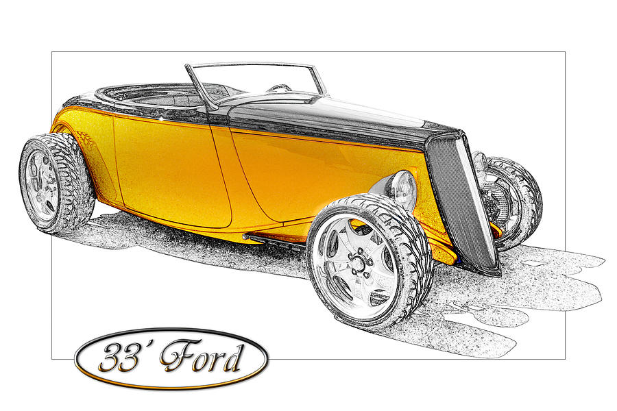 Ford Photograph - Ford Roadster by Michael Gass