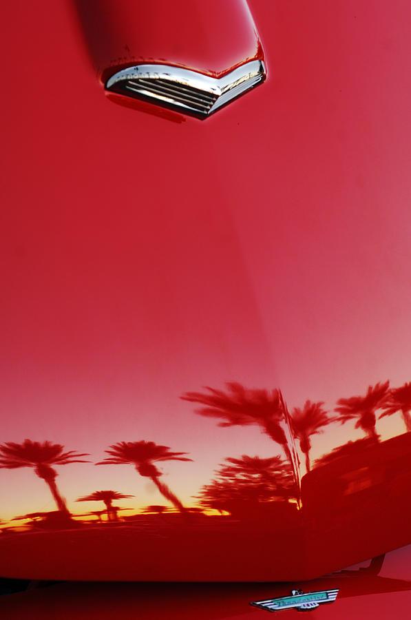 Car Photograph - Ford Thunderbird Hood Ornament  by Jill Reger