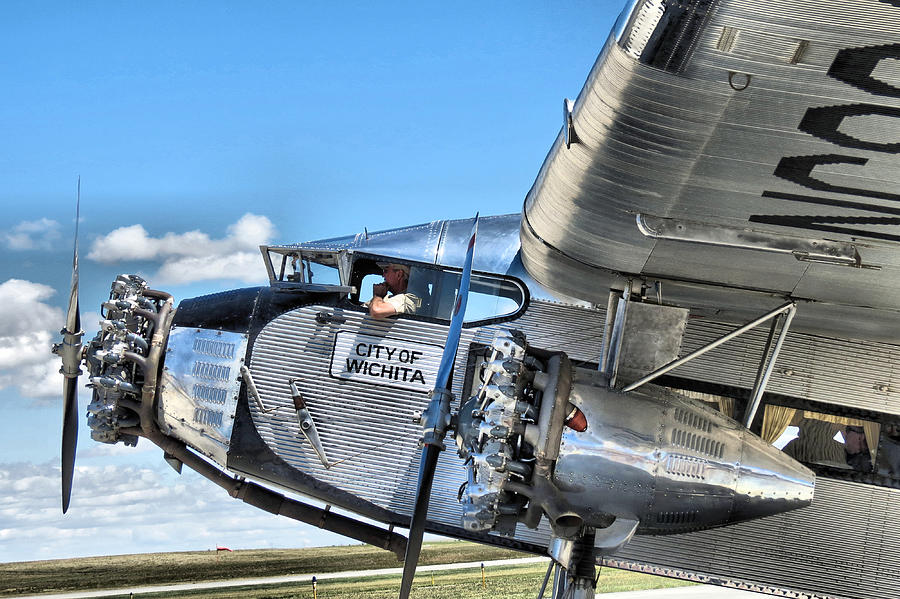 Ford Photograph - Ford Trimotor by Michael Daniels