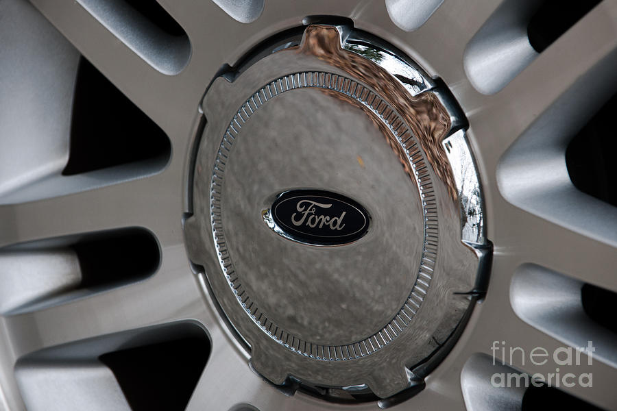 Ford Trucking Photograph
