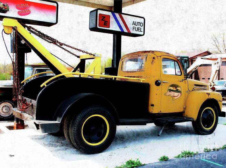 Trucks Photograph - Ford Wrecker  by Steven Digman